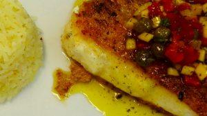 Assiette poisson Costa del Sol