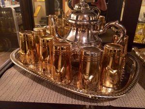 Ensemble de thé marocain